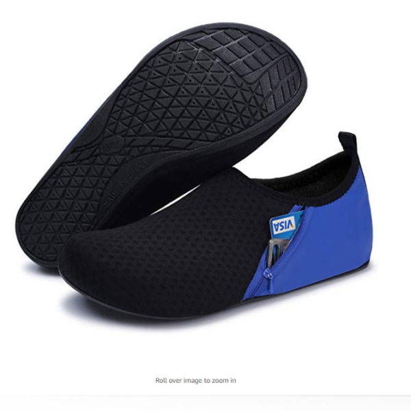 Ultralight, Compact Water Footwear - Breathable, Quickdry, Non-Slip