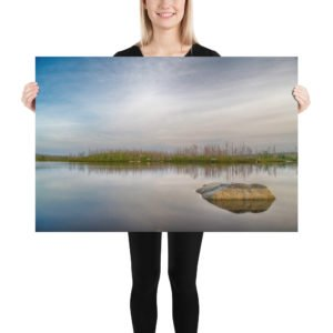 Purcell's Cove Backlands Flat Lake Photo Print Halifax Nova Scotia