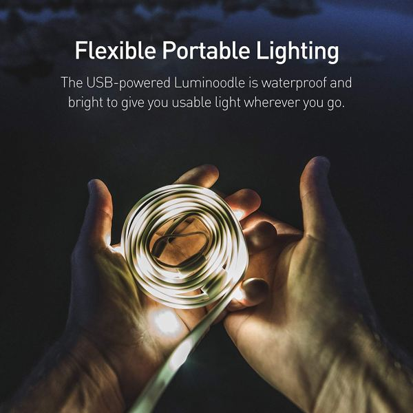 Luminoodle - Portable LED Light Rope and Lantern