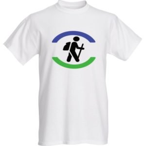 halifax trails hiking hiker t-shirt