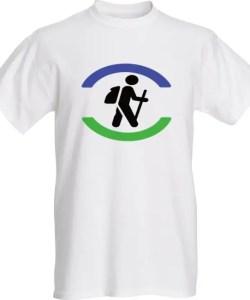 halifax trails hiking hiker t-shirt