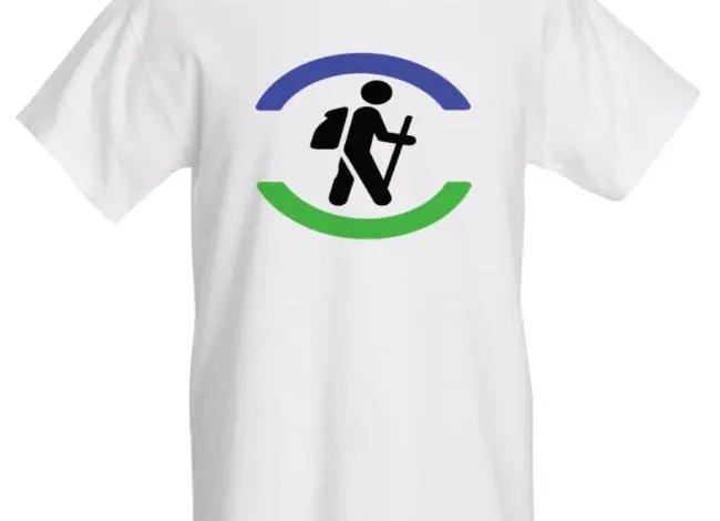 Hiker Logo T-Shirt (Men's/Unisex)