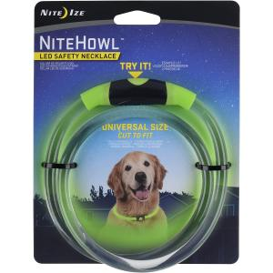 Nite Ize NiteHowl LED Dog Light Collar Safety Necklace collar