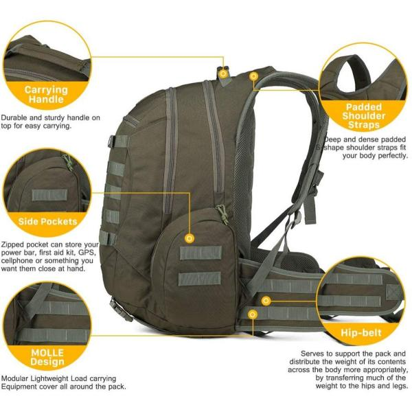35L Tactical Backpack