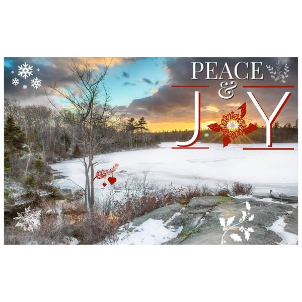 Long Lake Provincial park holiday cards christmas halifax nova scotia