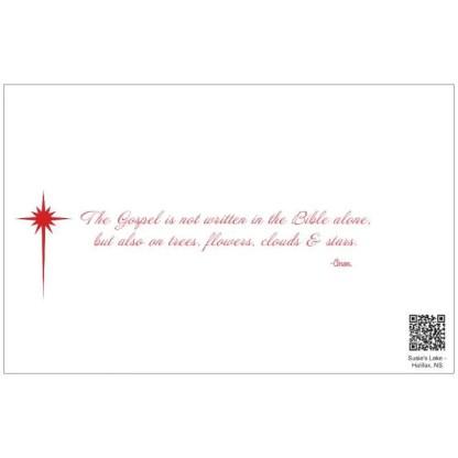 susies lake halifax nova scotia christmas cards