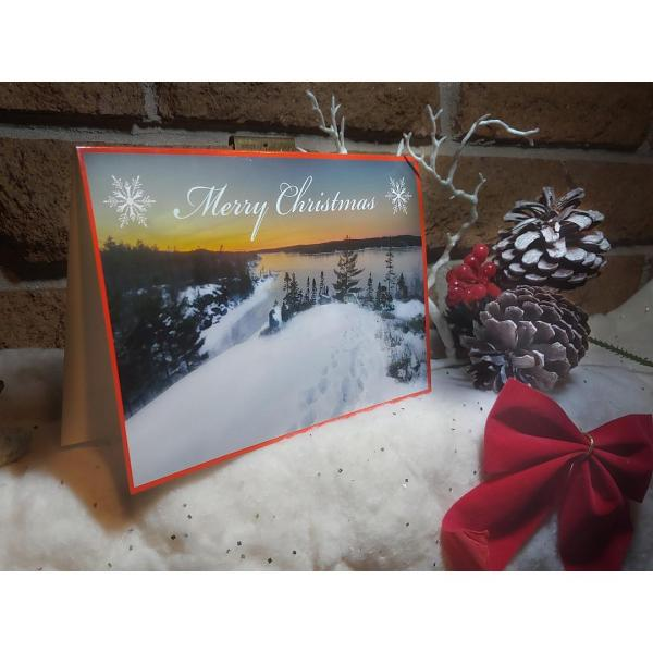 Susies Lake Blue Mountain Birch Cove Christmas Cards - Halifax, Nova Scotia
