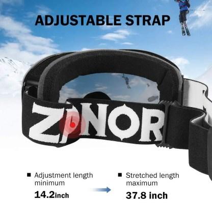 Snow Goggles - UV Protection, Anti-Fog
