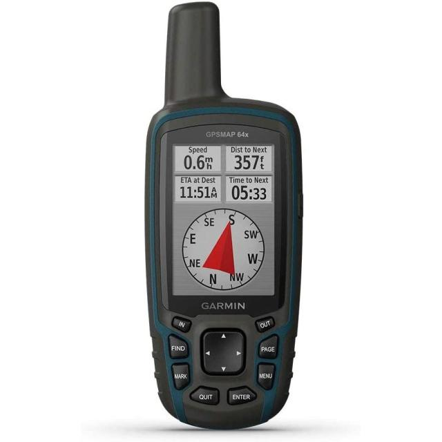 Garmin Gpsmap 64X, Handheld GPS, Preloaded with Topoactive Maps
