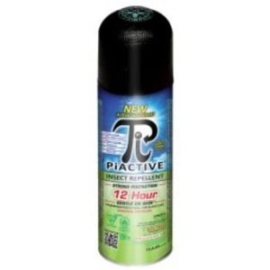 PIACTIVE™ Entire Family 100% Deet FREE 12hr! 150g Bag on Valve airosol equiv. to 214g