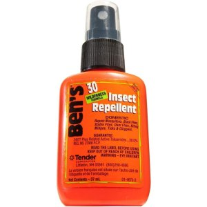 Ben's 30% DEET Mosquito, Tick and Insect Repellent, 37ml Pump, Pack of 4