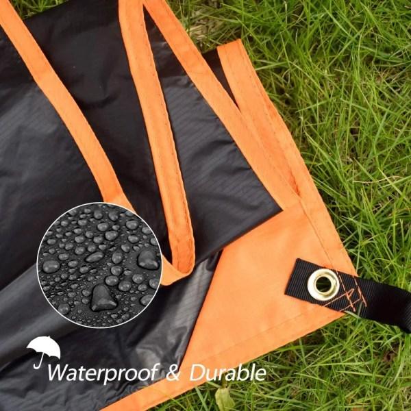 GEERTOP 1-4 Person Ultralight Waterproof Tent Tarp Footprint Ground Sheet Mat for Camping Hiking Picnic