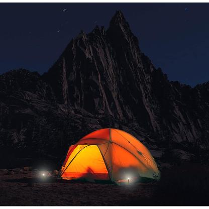 UCO StakeLight Tent Stake with LED Light and Emergency Strobe