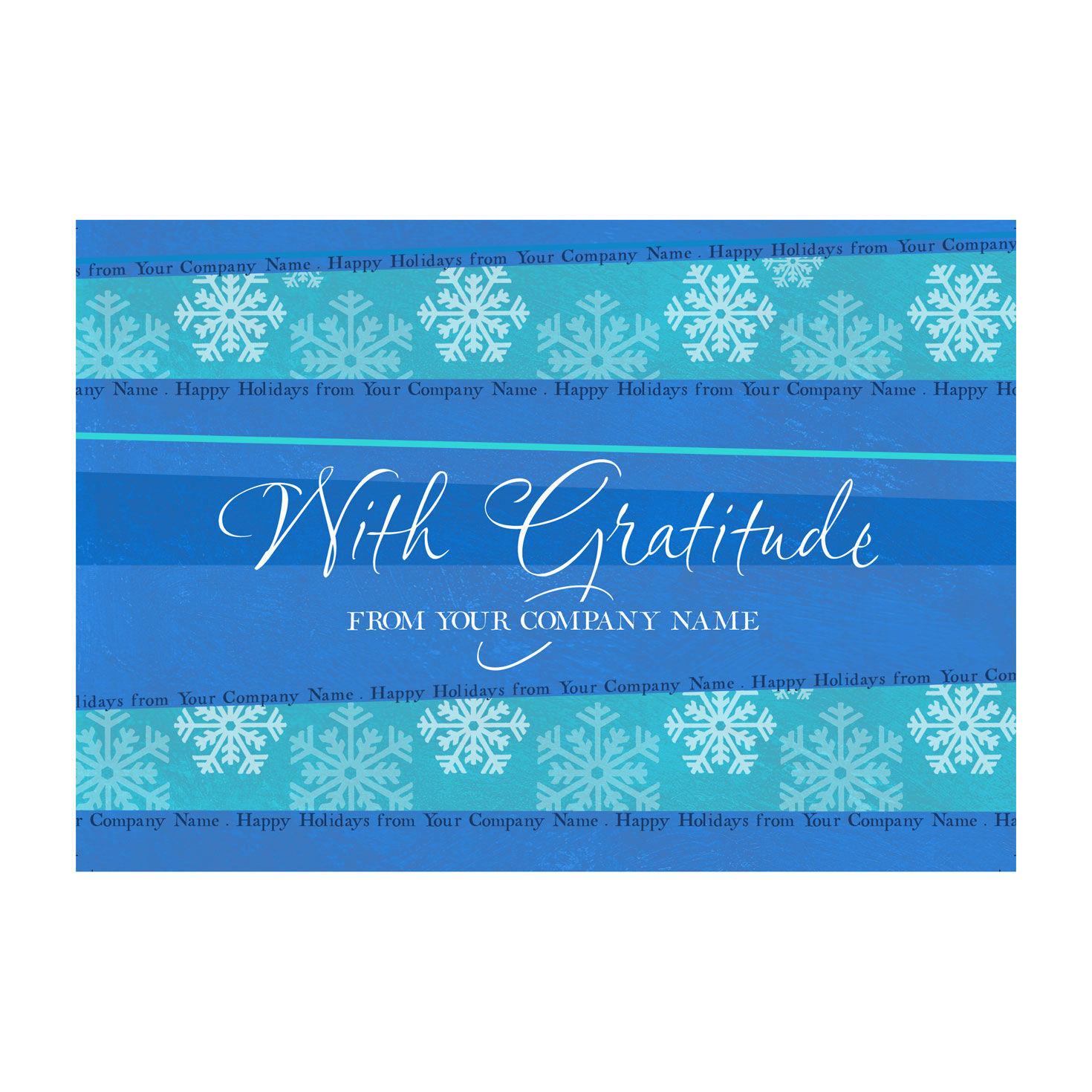 Holiday Gratitude Holiday Cards Hallmark Business