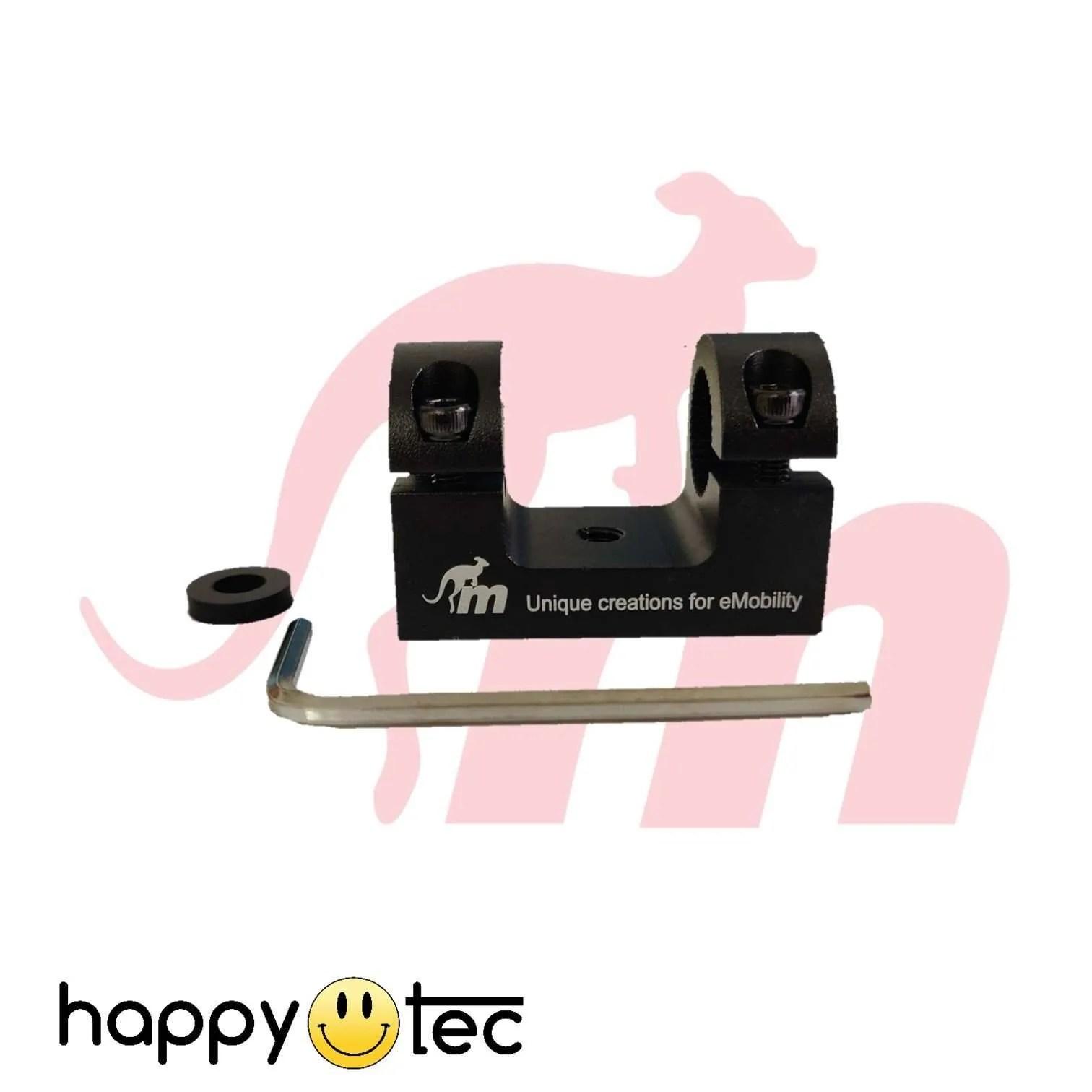 Supporto-parafango-per-ammortizzatori-by-Monorim-Nero ricambi accessori riparazione assistenza tecnica monopattini elettrici monorim
