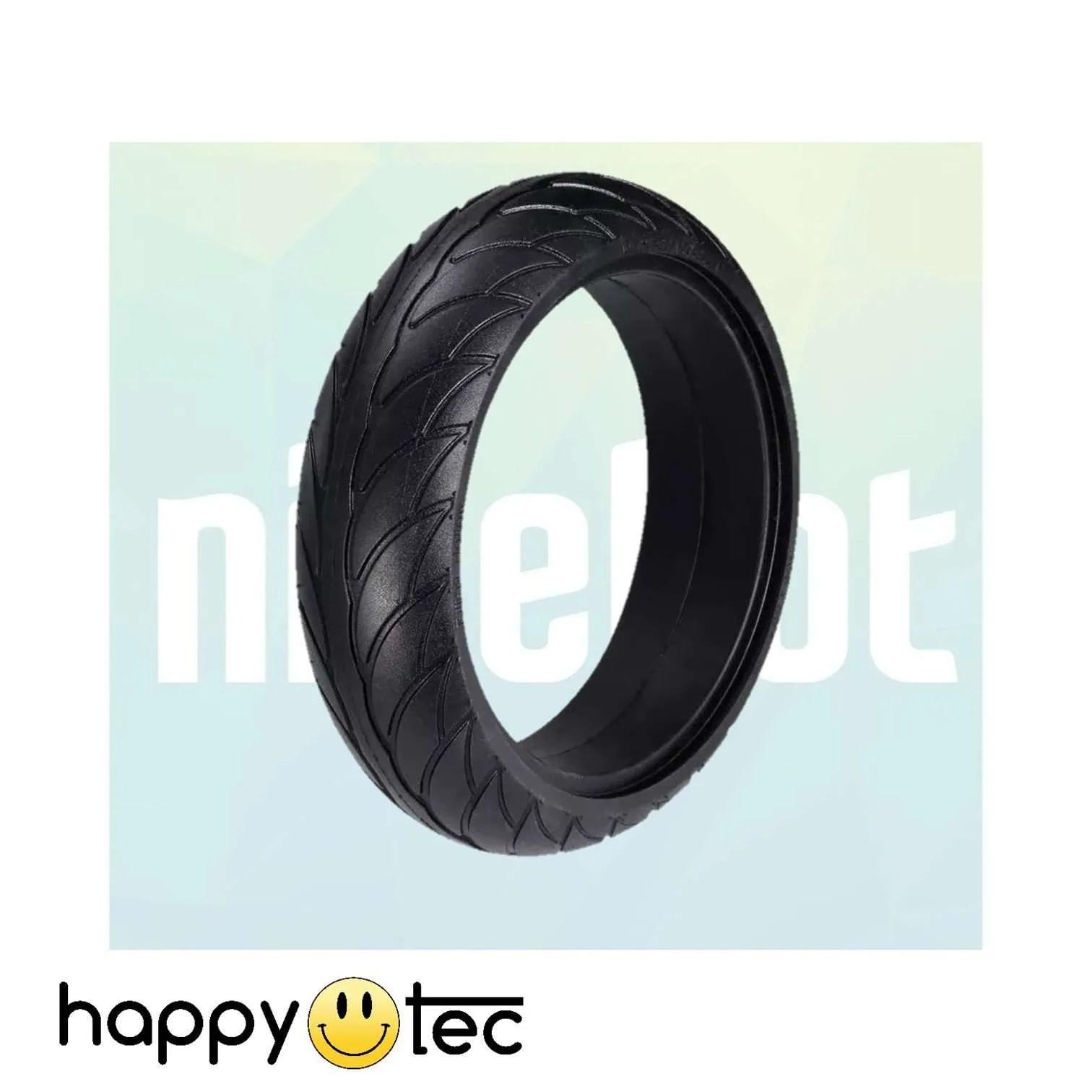 Ninebot-Serie-ES-Pneumatico-pieno-da-8 ricambi accessori riparazione assistenza tecnica monopattini elettrici monorim