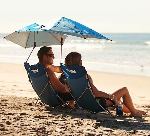 super brella chair comfy office sport beach blue