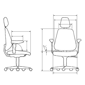 ergonomic chair types reviews consumer reports health by design how to fit an