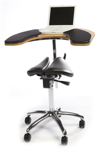 salli saddle chair fold up rocking uk twin seat with elbow table classic
