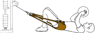 Morgan Lumbar Traction Harness, Leather
