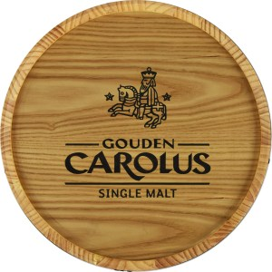 Muurbord Whiskyton Gouden Carolus Single Malt