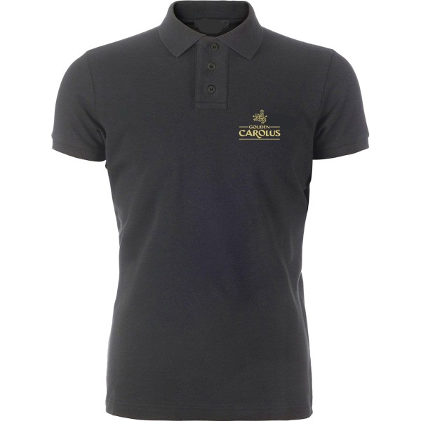 Polo Gouden Carolus, logo is geborduurd