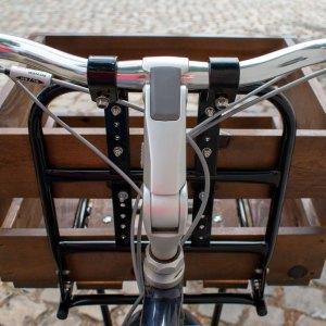 Gouden Carolus bicycle crate – mounting