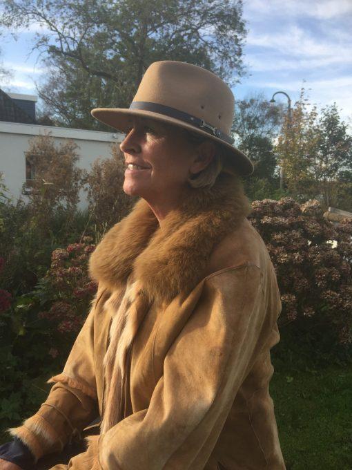Hobart wolvilten hoed