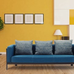 Color Sofa Leather Furniture Stores Nyc Tips To Decorate The Space Around A Bright Colored Hof India Incorporating Colors Such As Pink Blue And Other Neon Shades Makes Sure That No Individual Stands Out Decor Eye Catching Overall