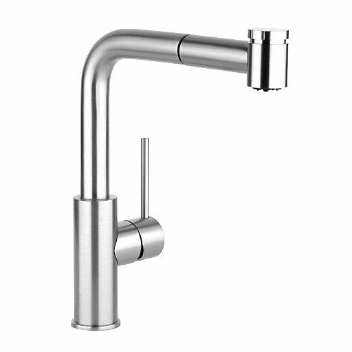 pull out kitchen faucets stainless steel counter elkay harmony faucet lkha3041