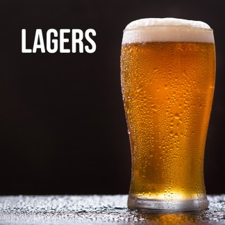 Lager - mini kegs and bottles