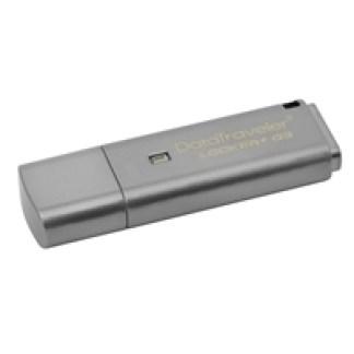 Kingston DataTraveler Locker+ G3 16GB USB 3.0 Silver 256 AES Encrypted USB Flash Drive