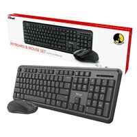 Trust ODY Wireless Silent Keyboard and Mouse Set