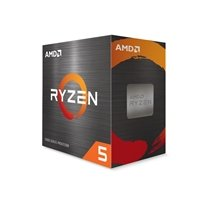 AMD Ryzen 5 5600X 3.7GHz 6 Core AM4 Socket Overclockable Processor with Wraith Stealth Cooler