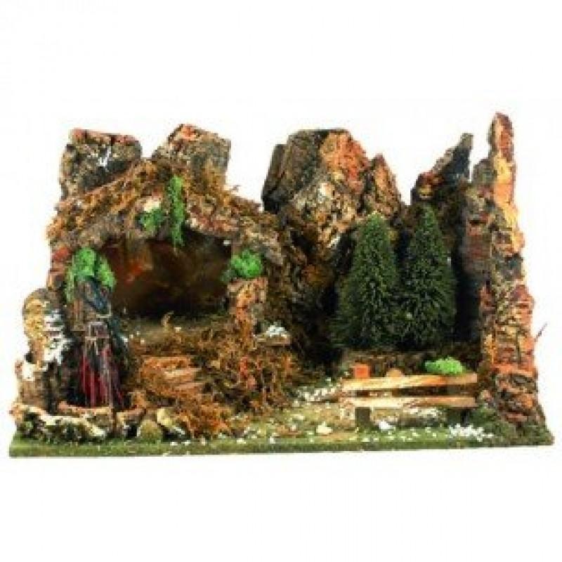 Paesaggio Presepe Grotta Pinetti e Fuoco