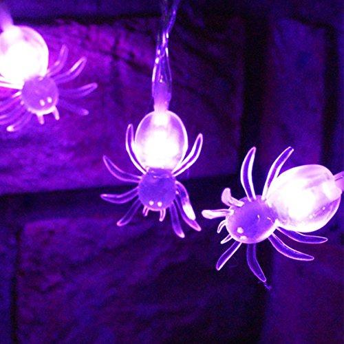 Xcellent Global Striscia da 22m con 20 Luci LED a Forma
