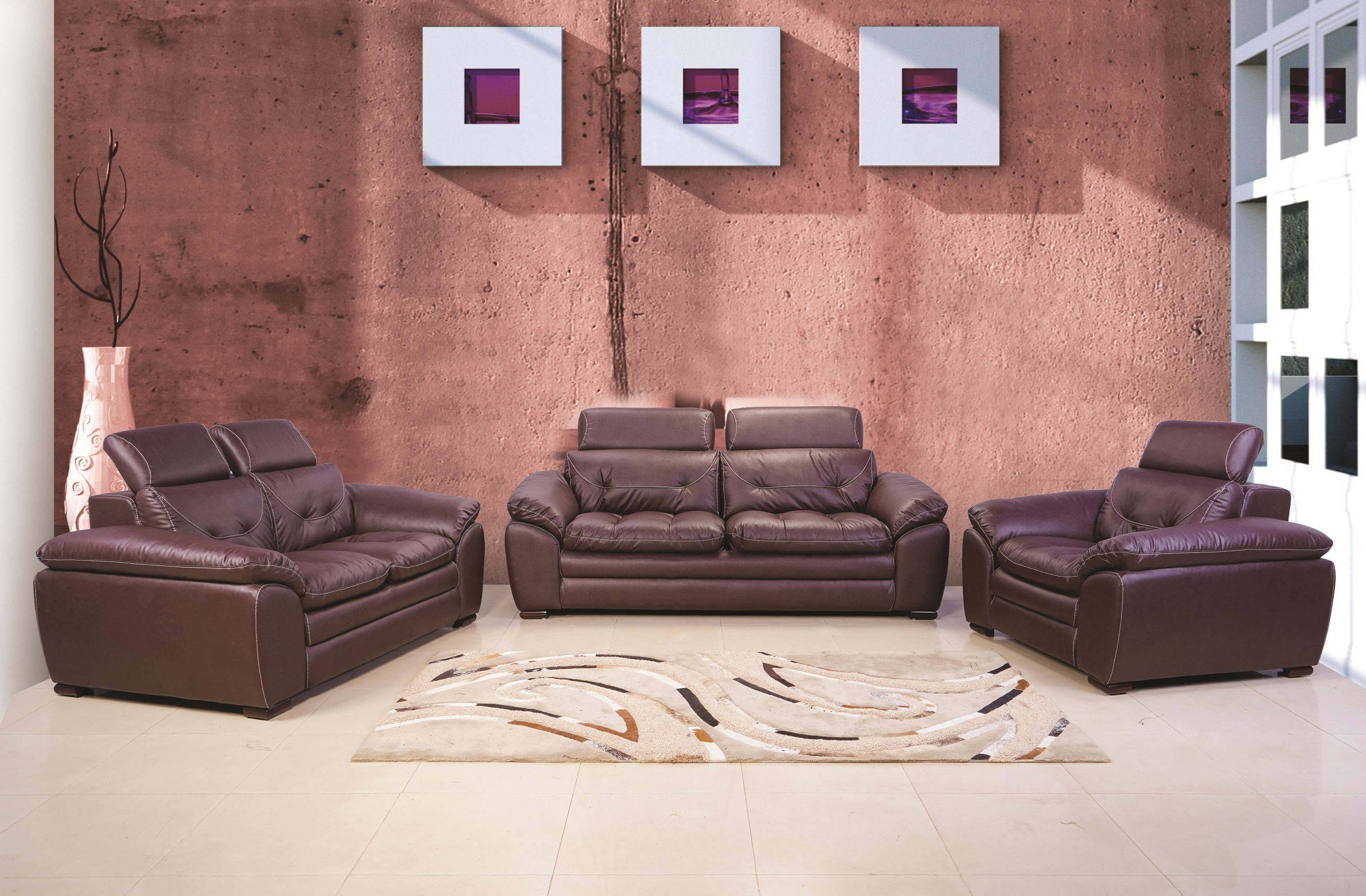 Sofa Bentley 3 2 1 In Leathrite Pvc Sofa Indroyal Furnitures Shop Home Furniture Online From Indroyal Online Store Buy Sofas Dining Tables And Chairs Side Tables And