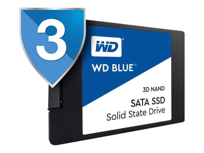WD Blue 3D NAND SATA SSD WDS250G2B0A Solid-State-Disk 250 GB intern 2.5
