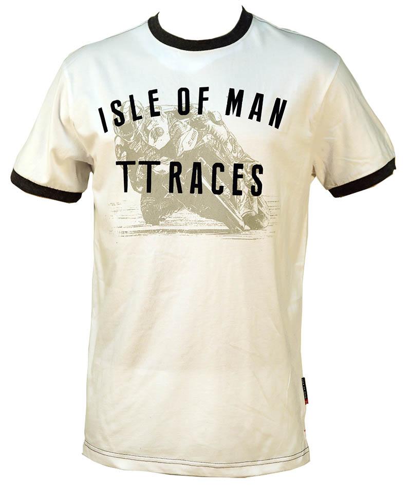 TT Vintage T-shirt White : Isle of Man TT Shop