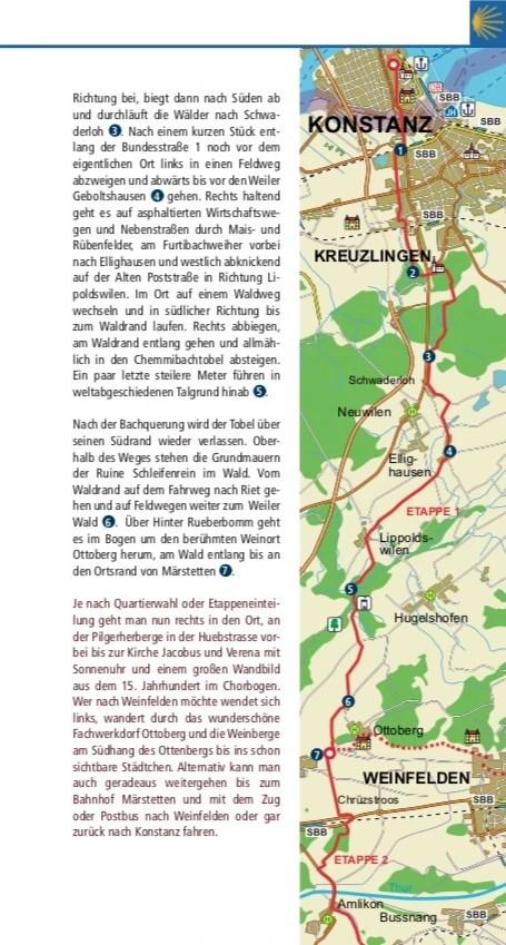 Jakobswege am Bodensee