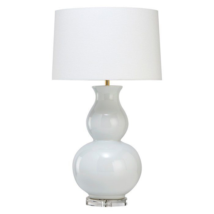 JASMINE TABLE LAMP WHITE