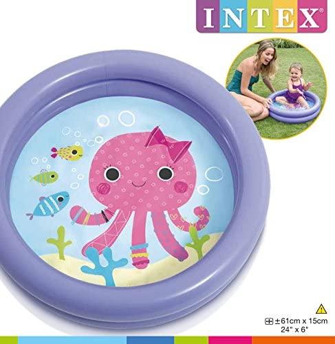 """當日發貨 Intex 海地世界充氣 迷你 小型 泳池 球池 59409np 61x15cm 24""""x6"""""""