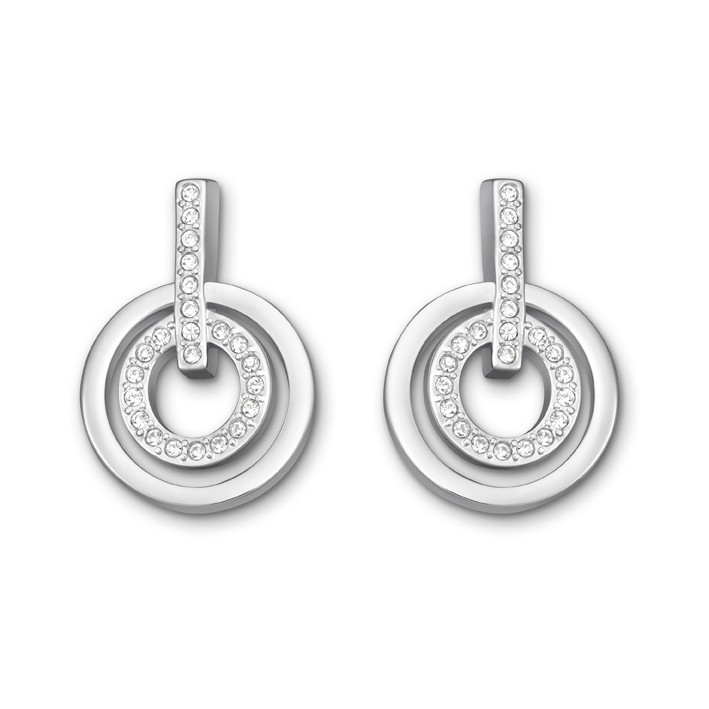 Pendientes Swarovski Circle Crystal. Fashion Jewelry. 5007750