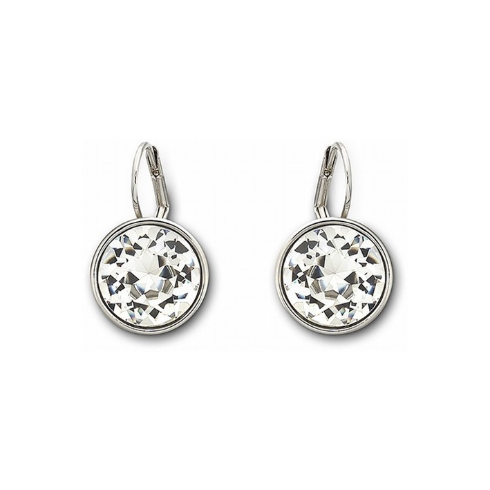 Pendientes Swarovski Bella Clear Crystal. Fashion Jewelry