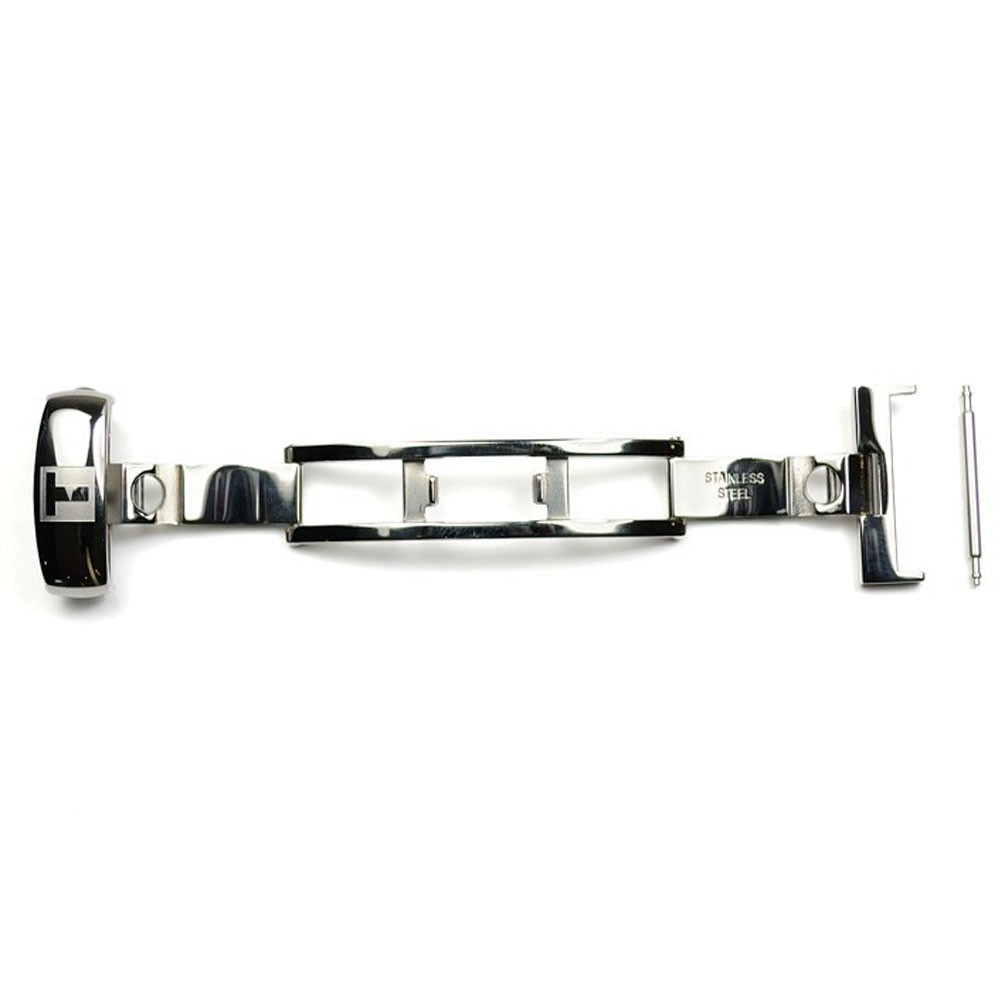 Steel folding clasp Tissot T640015875 for leather straps
