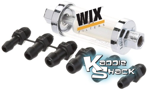 small resolution of wix clear fuel filter with cleanable filter element kaddie shack parts accessories for vintage vw s