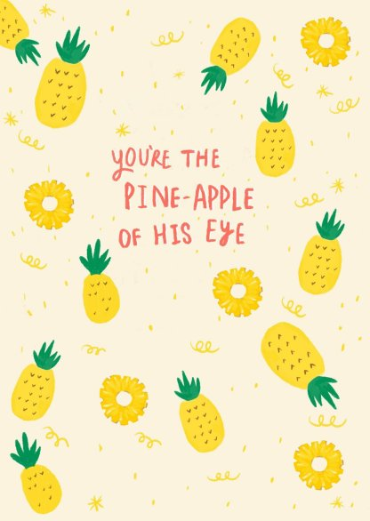 Fruit Pun Christmas Card