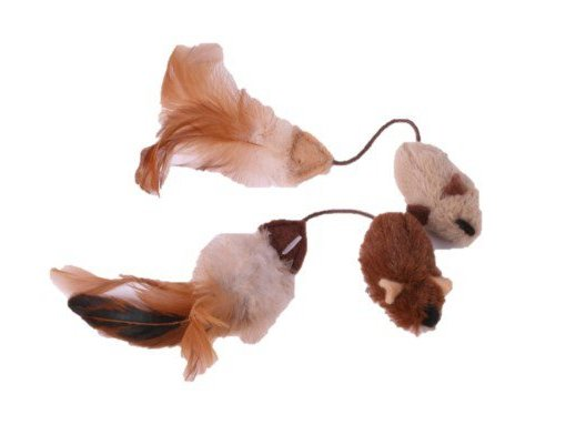 petface mice with feather