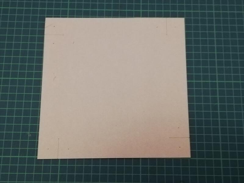 無料のレザークラフト型紙|革のトレー