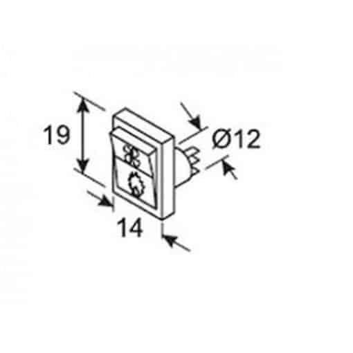 Webasto Schalter Standheizen auf Lüften für Thermo Top